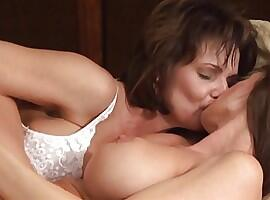 Deauxma and Bibette Blanche - Lesbian Triangles 6 -Squirting