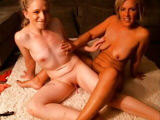 MILF Playing With Young Lady